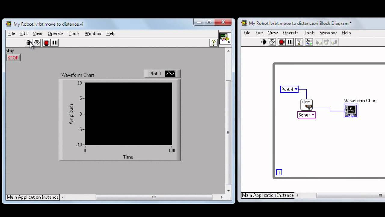 Programing for LEGO MINDSTORMS NXT - LabVIEW for LEGO MINDSTORMS