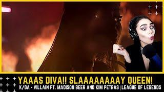 Download Dinka Kay REACTS: K/DA - VILLAIN ft. Madison Beer and Kim Petras  - Starring Evelynn