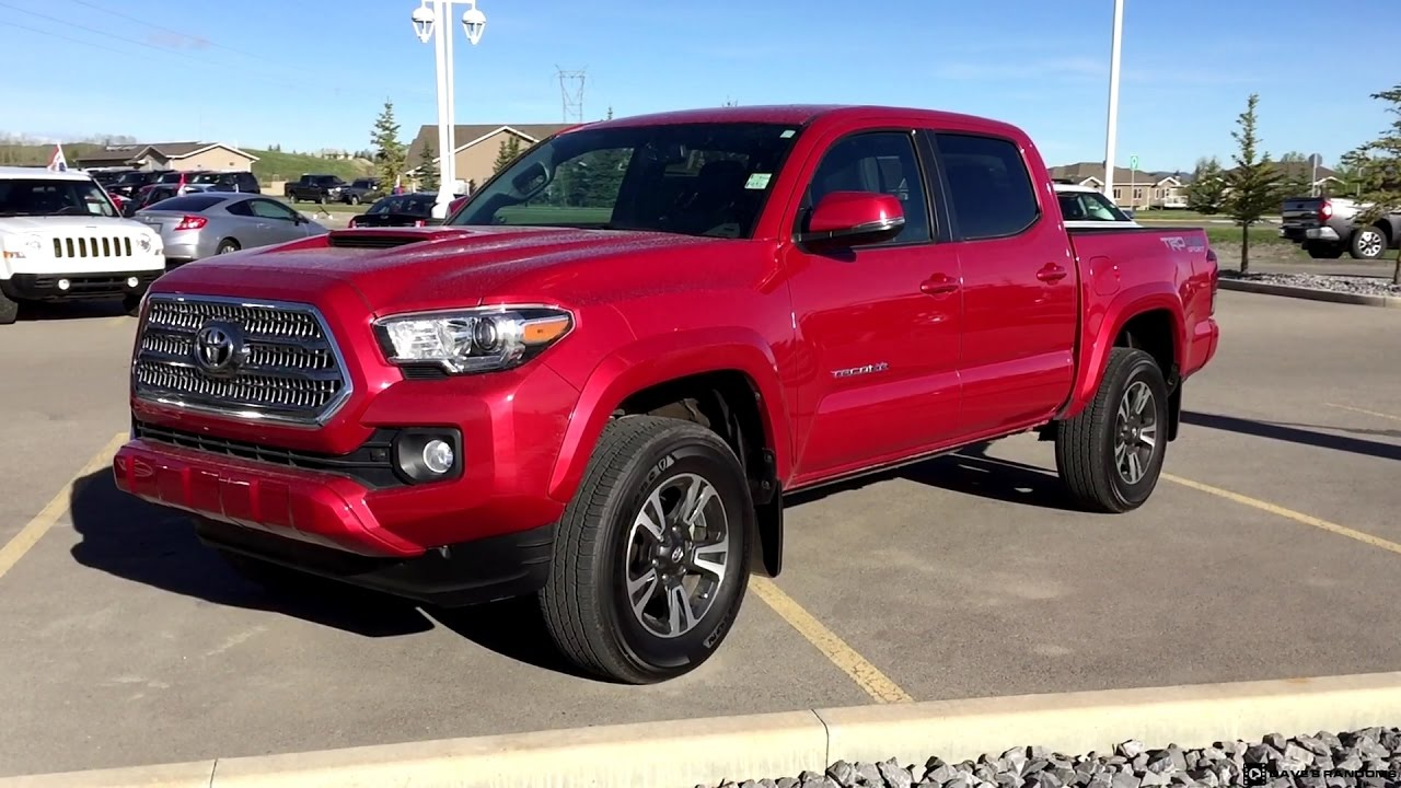 2017 Toyota Tacoma Trd Sport In Barcelona Red