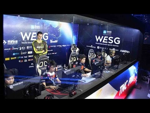 China hosts World Electronic Sports Games