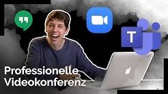 Online Videokonferenz - Bessere Ton- und Videoqualität