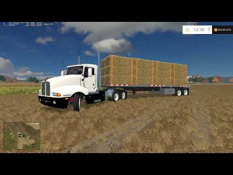 WINDCHASER FARMS Ep. 4 HAULING BALES