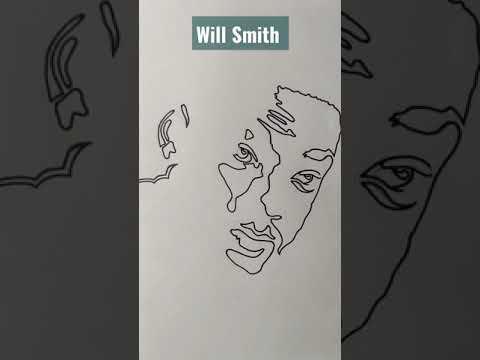 #will Smith #stencil art #youtube shorts #shorts #youtube music #short video