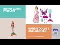 default - Rainbow Handmade Dresses for Barbie Doll, Pack of 9