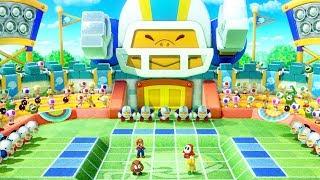 Super Mario Party - All 1 Vs 3 Co-op Minigames - Mario Vs Shay Guy Vs Goomba Vs Koopa Troopa