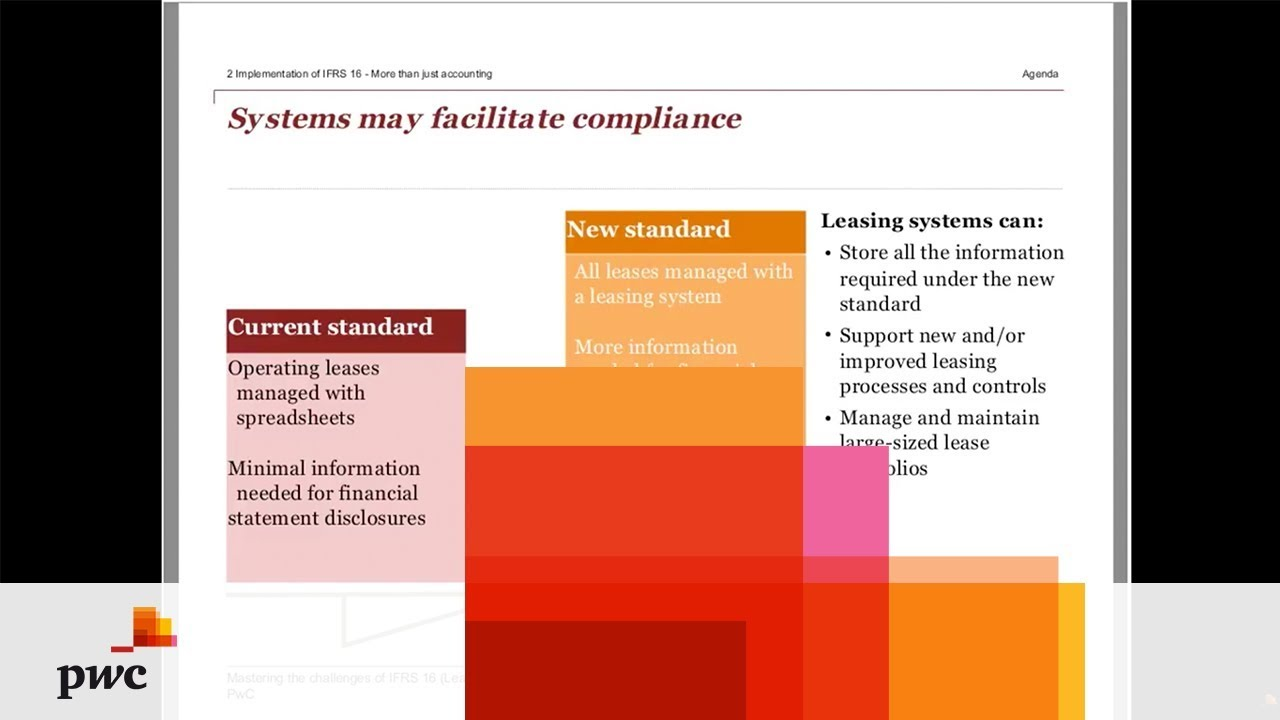 PwC Webinar - Mastering the challenges of IFRS 16 (Leases)