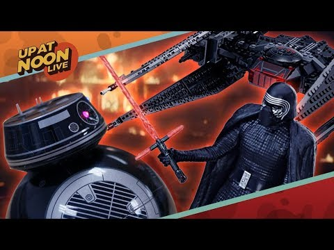 Force Friday's New Star Wars Toys and DC's Cinematic Crisis - Up At Noon Live!