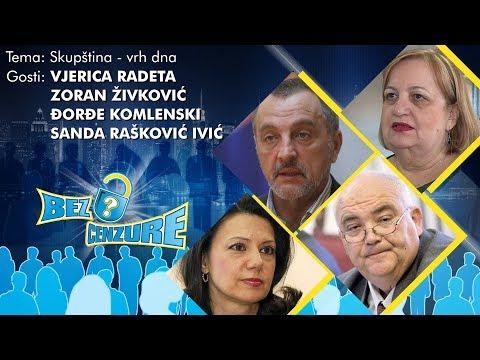 BEZ CENZURE - Vjerica Radeta, Zoran Živković, Đorđe Komlenski i Sanda Rašković Ivić