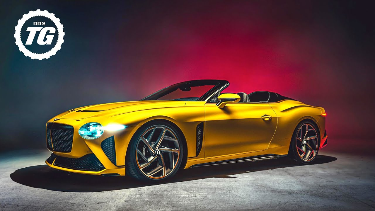 Bentley Bacalar: the £1.5million, 200mph two-seat drop-top Conti GT |