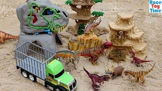 Dinosaurs Rescue Adventure - Fun Dinosaur Toys For Kids Video