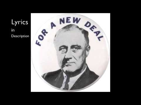 The Great Depression/New Deal Song