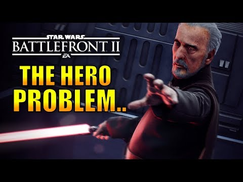 The Problem with The Heroes in Battlefront 2! - Star Wars Battlefront 2 thumbnail