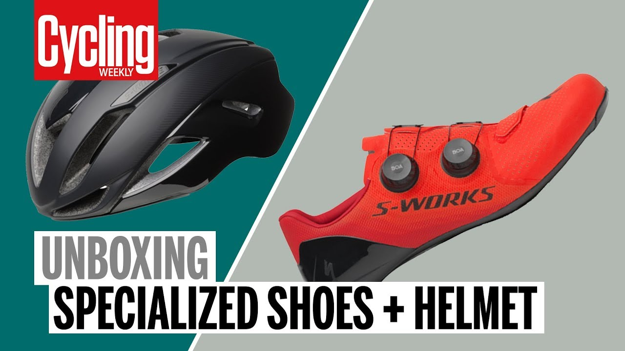 05bb7e3d401 First look: brand new Specialized S-Works 7 shoes and Evade 2 helmet -  Cycling Weekly