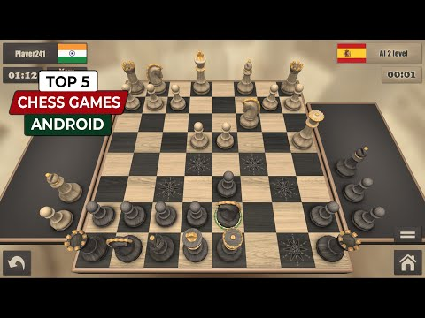 Top 5 CHESS Games For Android 2020