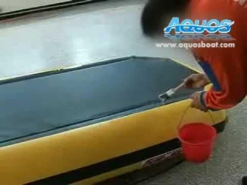 Aquos Inflatable boat :How to repair air leak