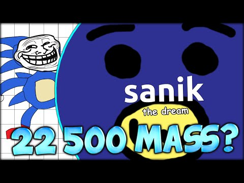 AGARIO SPECIAL! EVERYONE FEEDS ME IN ORDER TO REACH 22 500 MASS (MOST ADDICTIVE GAME - AGAR.IO #24)