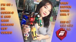 FM59I có vấn đề gì với cô ấy ? I Spiderman Girl TOy I  dx gokai-oh and magi dragon set