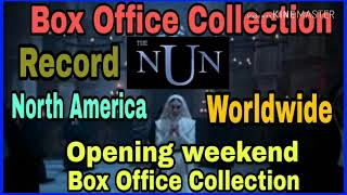 The Nun Opening weekend Box Office Collection