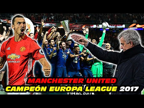 MANCHESTER UNITED Campeón 🏆 EUROPA LEAGUE 2017