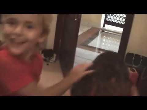 Baby Paris & Prince Jackson rare footage!