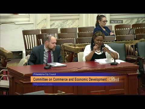 Committee on Commerce and Economic Development 5-22-2018