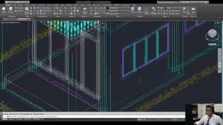 AutoCAD 2016 Two storey house 3D - 13