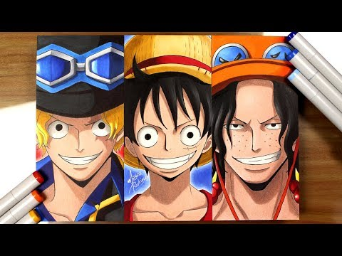 Drawing Sabo | Luffy | Ace - [ONE PIECE]