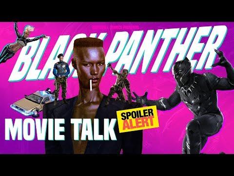Black Panther Movie Talk ( Spoilers )