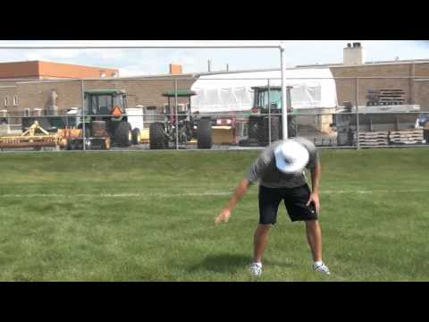 Day 4 of kicking lessons with NY Giants Kicker Brandon McManus