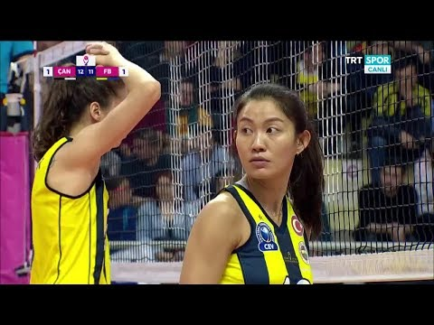[18.2.2018] Çanakkale - Fenerbahçe : 2017-2018 Turkish Women's Volleyball League