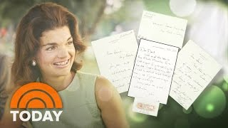 Jackie Kennedy's Lost Love Letters Reveal Post-JFK Romantic Triangle | TODAY