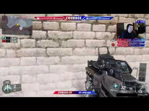 COD CASTER COURAGE CHOOSES SUICIDE IN 1v1 Wagers