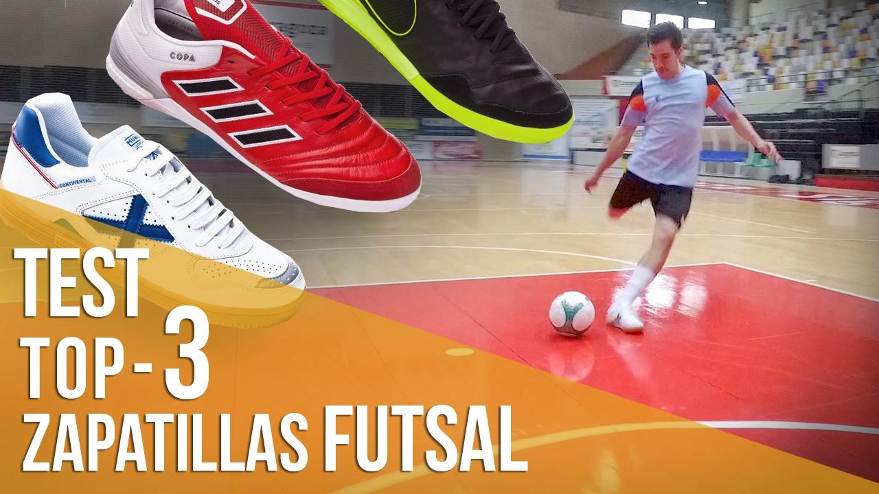 354285fb29c82 Test  Top 3 Zapatillas de FutSal - YouTube