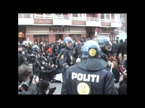 COP15 main march police riot and mass arrests