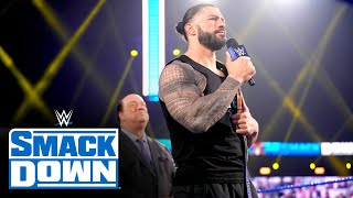 Roman Reigns is out to crush the dreamers at WrestleMania: SmackDown, April 9, 2021