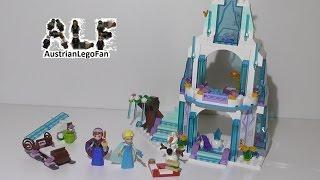 Lego Princess 41062 Elsa's Sparkling Ice Castle / Funkelnder Eispalast - Lego Speed Build Review