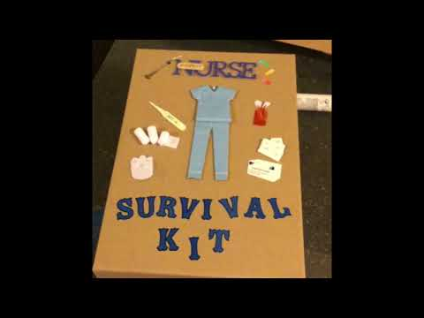DIY Gift: Nurse Survival Kit