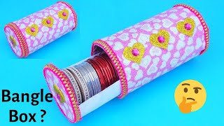 Bangle Box making at Home with Plastic Bottle | Best out of waste
