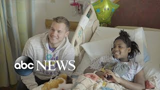 'Bachelor' Colton Underwood visits patients at a children's hospital | GMA Digital