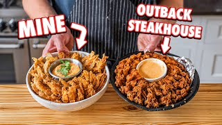 Making Outback Steakhouse Blooming Onion At Home | But Better