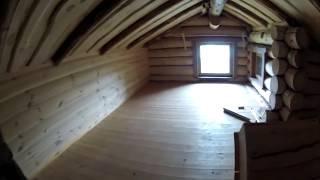 Рубленый дом. Как сделать красиво и удобно.(http://www.teplowoda.ru Видео о том, как можно построить красивый, удобный деревянный дом. Дом небольшой по площади,..., 2014-06-19T09:30:16.000Z)