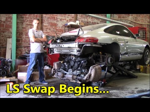 LS Swapping a Porsche 911, An idiot's Guide: Part 1
