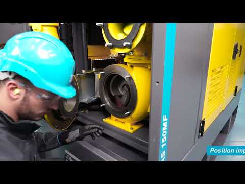 Atlas Copco Service Instruction Video PAS - Basic Maintenance