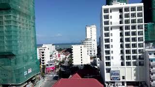 06.01.2019. Погода в Нячанге. Вид из окна госпиталя Кхань Хоа.