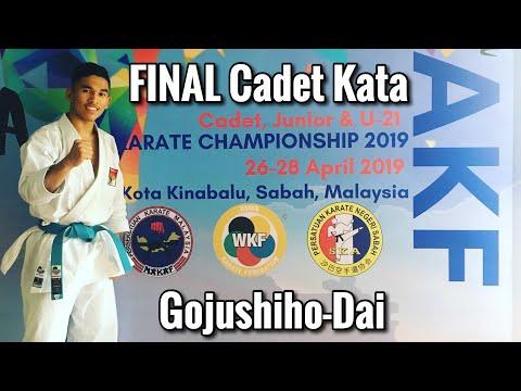 FINAL - Ocniel Djuandi - Kata Individu Male Cadet AKF Championship 2019