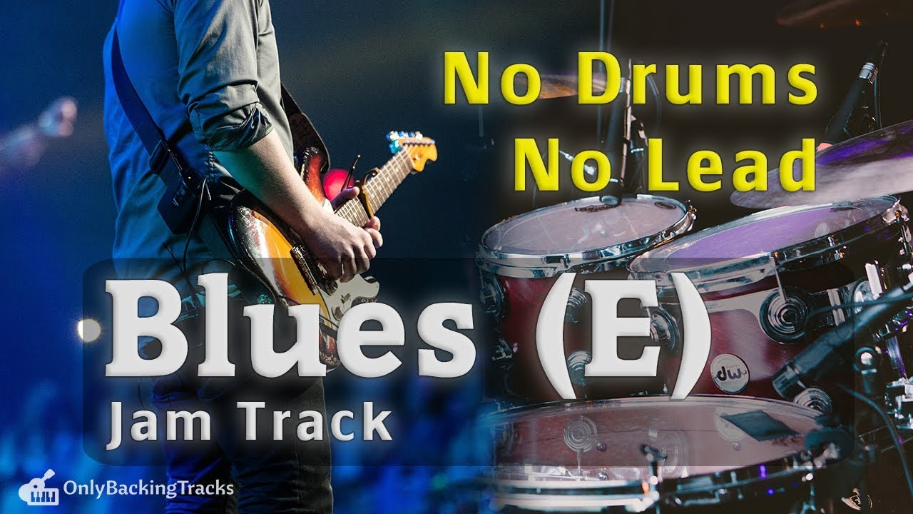 Drumless Blues backing track - Texas Blues for drummers