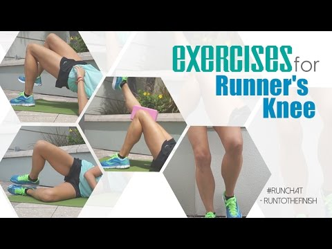 Exercises for Runner's Knee #runchat RunToTheFinish