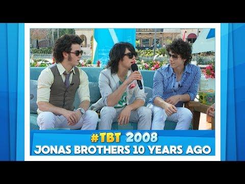 #TBT Jonas Brothers 10 Years Ago