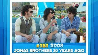 #TBT Jonas Brothers 10 Years Ago