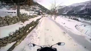A ride to World's Highest Petrol Outlet | Extreme Winter Spiti Valley Ride in Minus 30 Degree